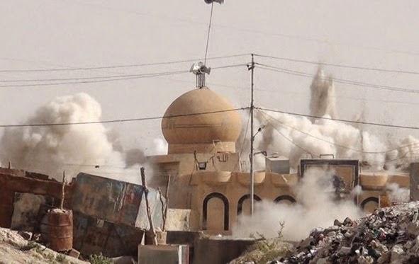 Militer AS Serang Masjid Sayidina Umar Bin Khattab di Suriah