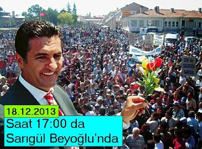 Mustafa Sarıgül Beyoğlu ilçe Ziyareti