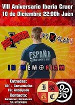 Concierto VIII Aniversario Iberia Cruor
