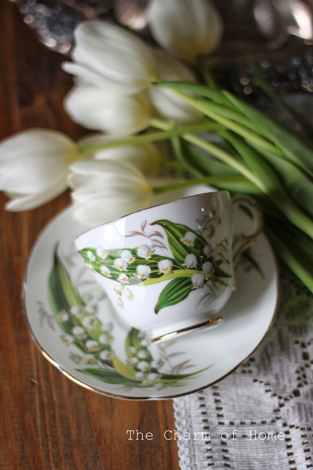 Lily of the Valley china, The Charm of Home