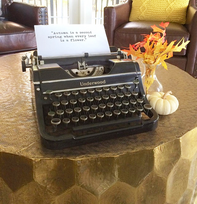 #thriftscorethursday Week 87 | Instagram user: farmhouseredefined shows off this Underwood Typewriter