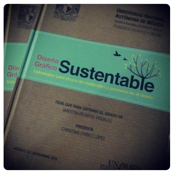 CHRYSA:: Diseño Gráfico Sustentable: Un sueño materializado: MI