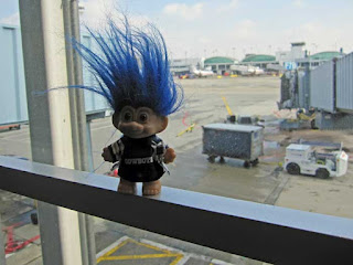 Troll at Chicago O'Hare Airport