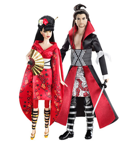 Japanese Costume Barbies