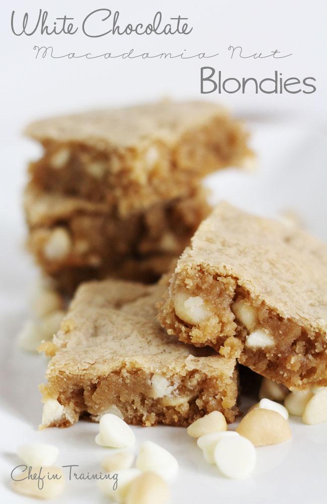 25 Bodacious Blondies - Something Swanky