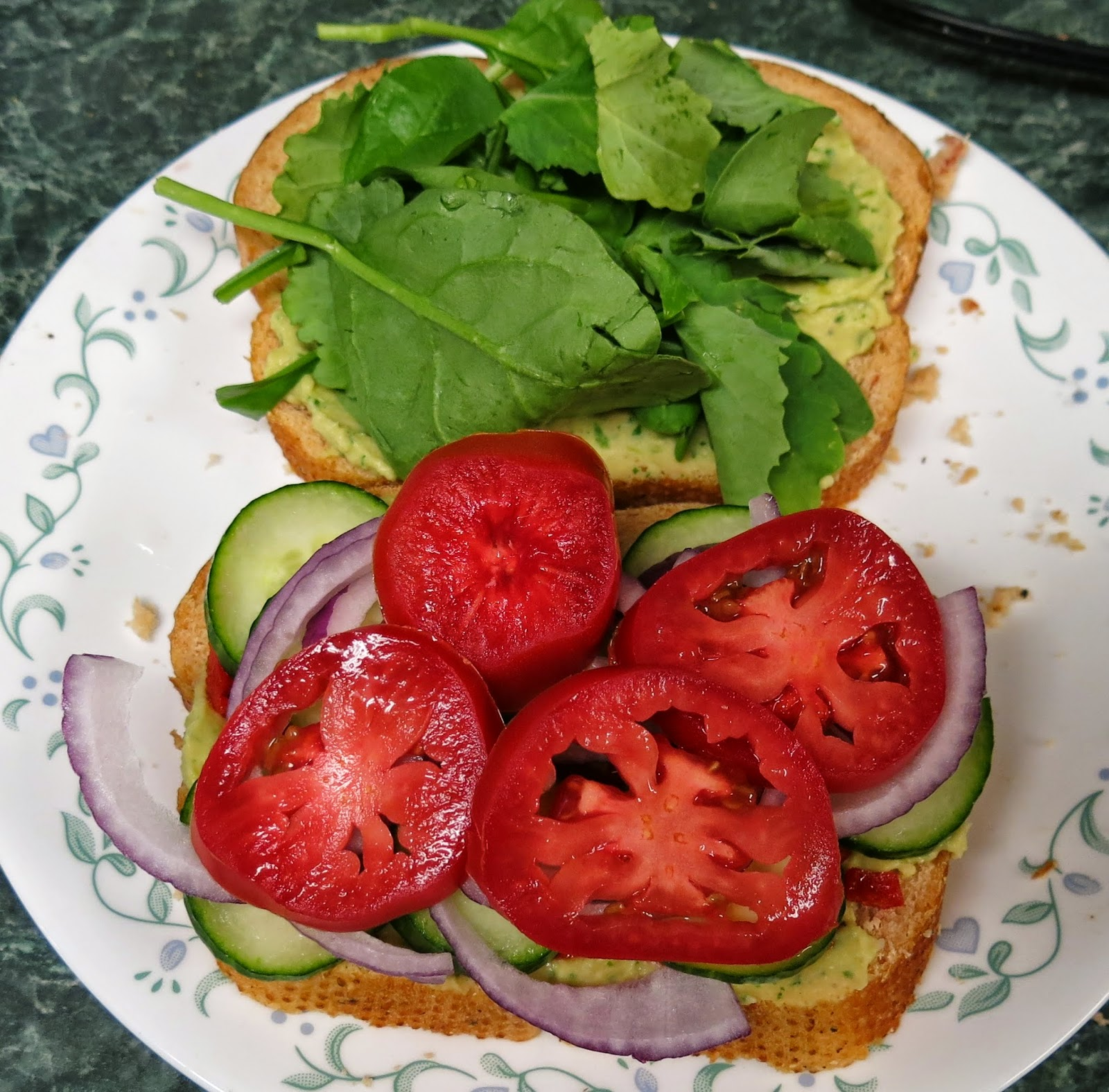 ... you use, this is an amazing veggie sandwich that is tasty and filling