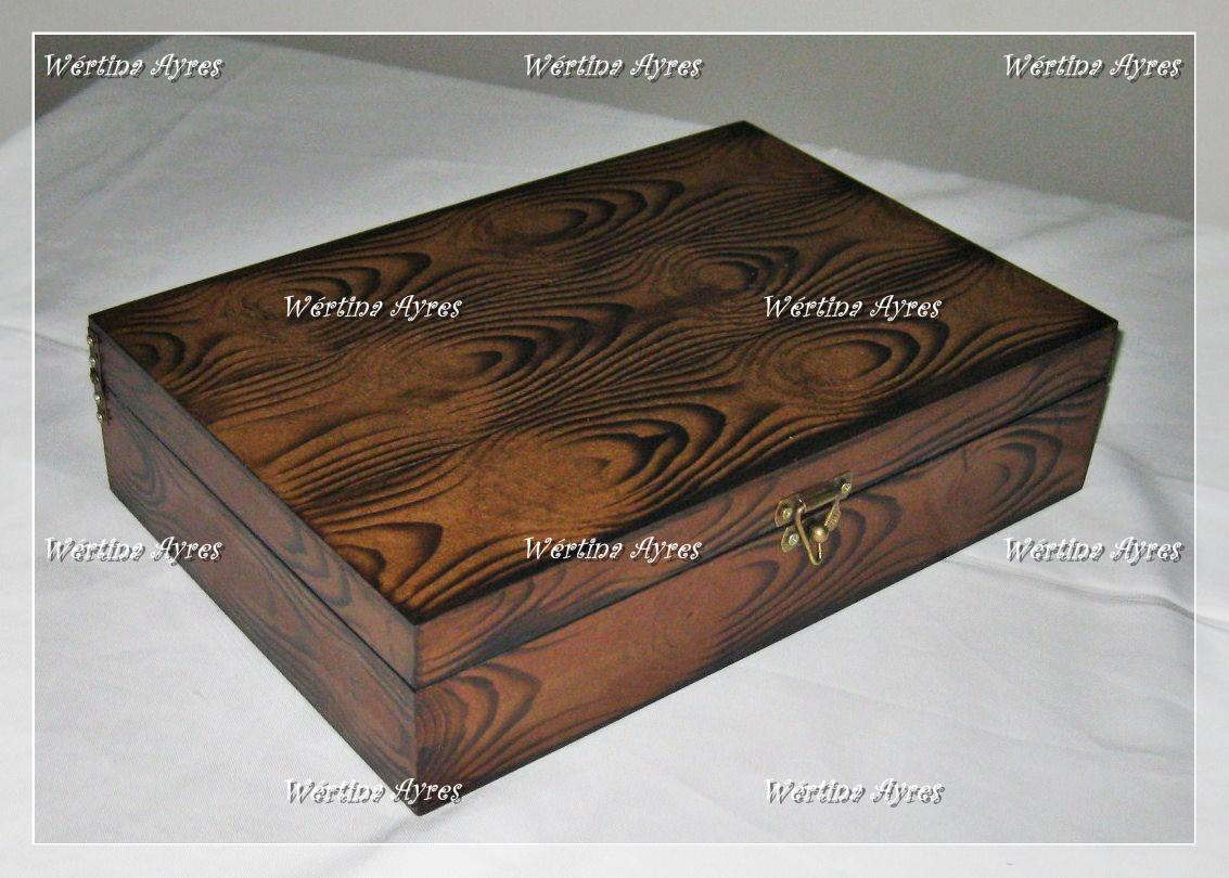 de Luxo: Caixa Retangular com divisórias Imitação de Madeira  #694731 1133x810