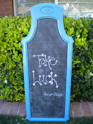 large chalkboard...SOLD