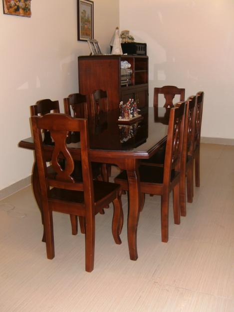 Muebles de madera y decoraci nes ruddy romero espitia for Disenos de comedores de madera