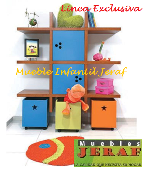 Mueble Infantil Huellitas