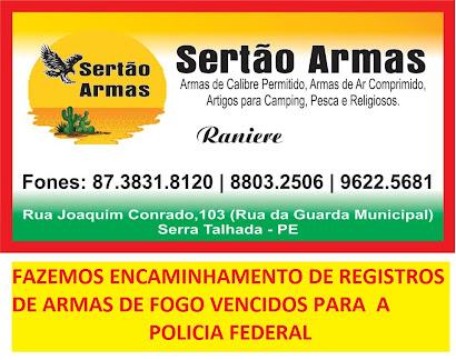 SERTÃO ARMAS