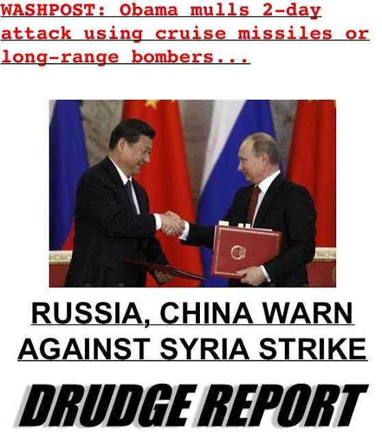 Syria Crisis: Russia And China Step Up Warning Over Strike