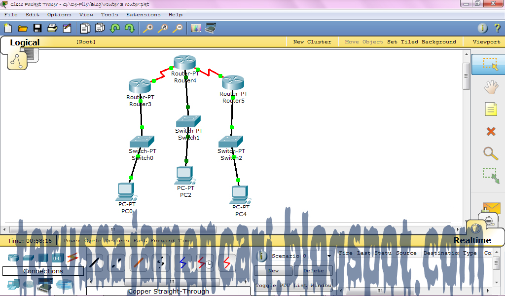 how to connect switch to pc in packet tracer