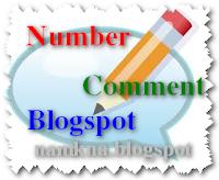 Tạo số đếm nhận xét (number of comment) cho bài viết trên 200 nhận xét - by: http://namkna.blogspot.com/