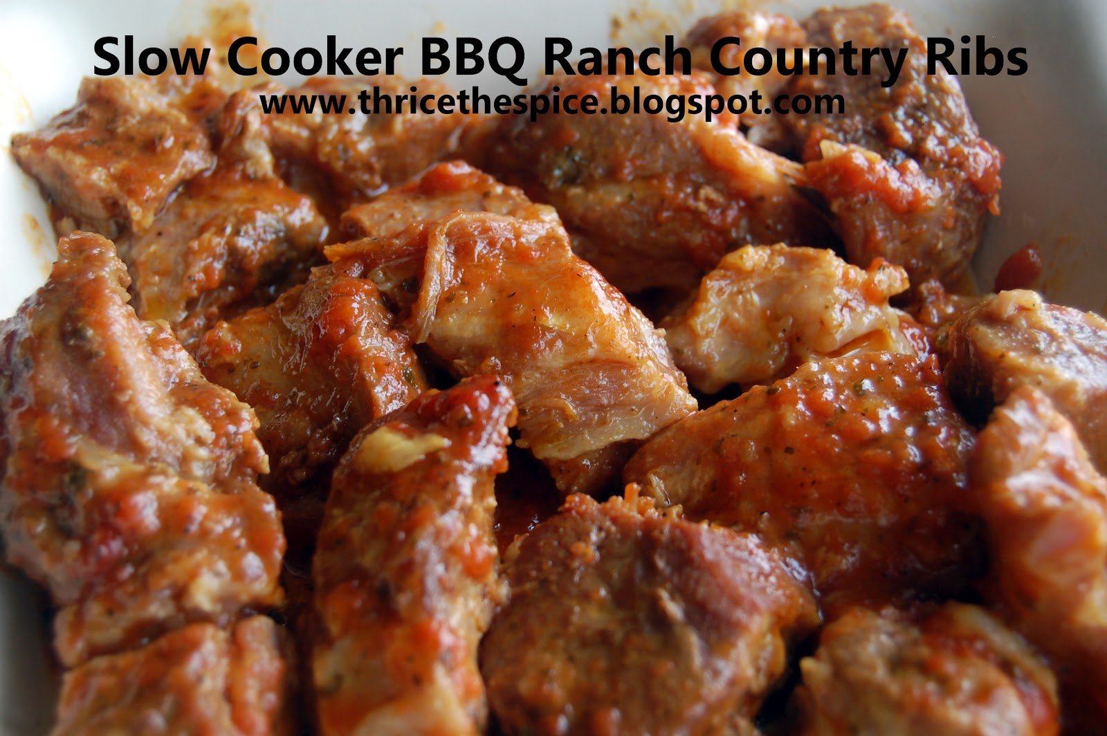 country style pork ribs recipe in ginger ale hoisin sauce slow oven ...