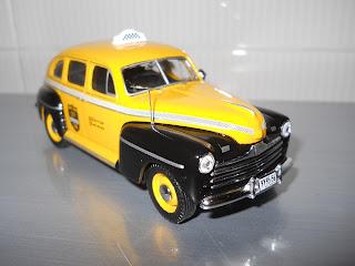 miniatura de Taxi Ford Fordor Sedan 1947