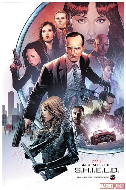 San Diego Comic-Con 2015 First Look - Marvel's Agents of SHIELD Season 3 Poster by Kris Anka