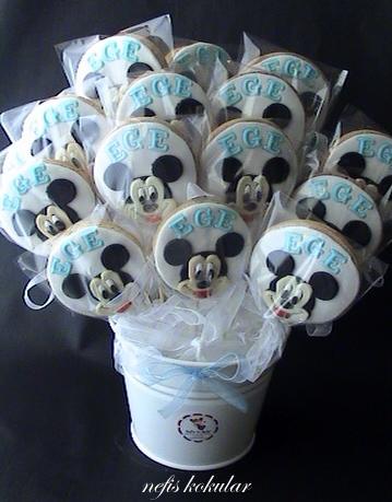 Mickey mouse club house ve arkadaşları pastası