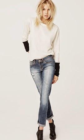 calça jeans jersey bicolor Suiteblanco coleção jeans & denim outono inverno 2014 2015