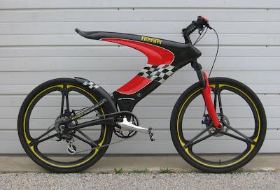 Gambar Modifikasi Sepeda Keren Ferrari