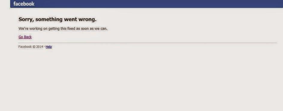Facebook experimenta una caída mundial este viernes