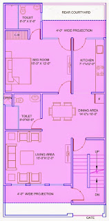 Up Country, Yamuna Expressway :: Floor Plans,Villa  1125 Sq. Ft. (125 Sq. Yds.):Total Buildup Area by us-3491 Sq.ft:-Ground Floor Plan