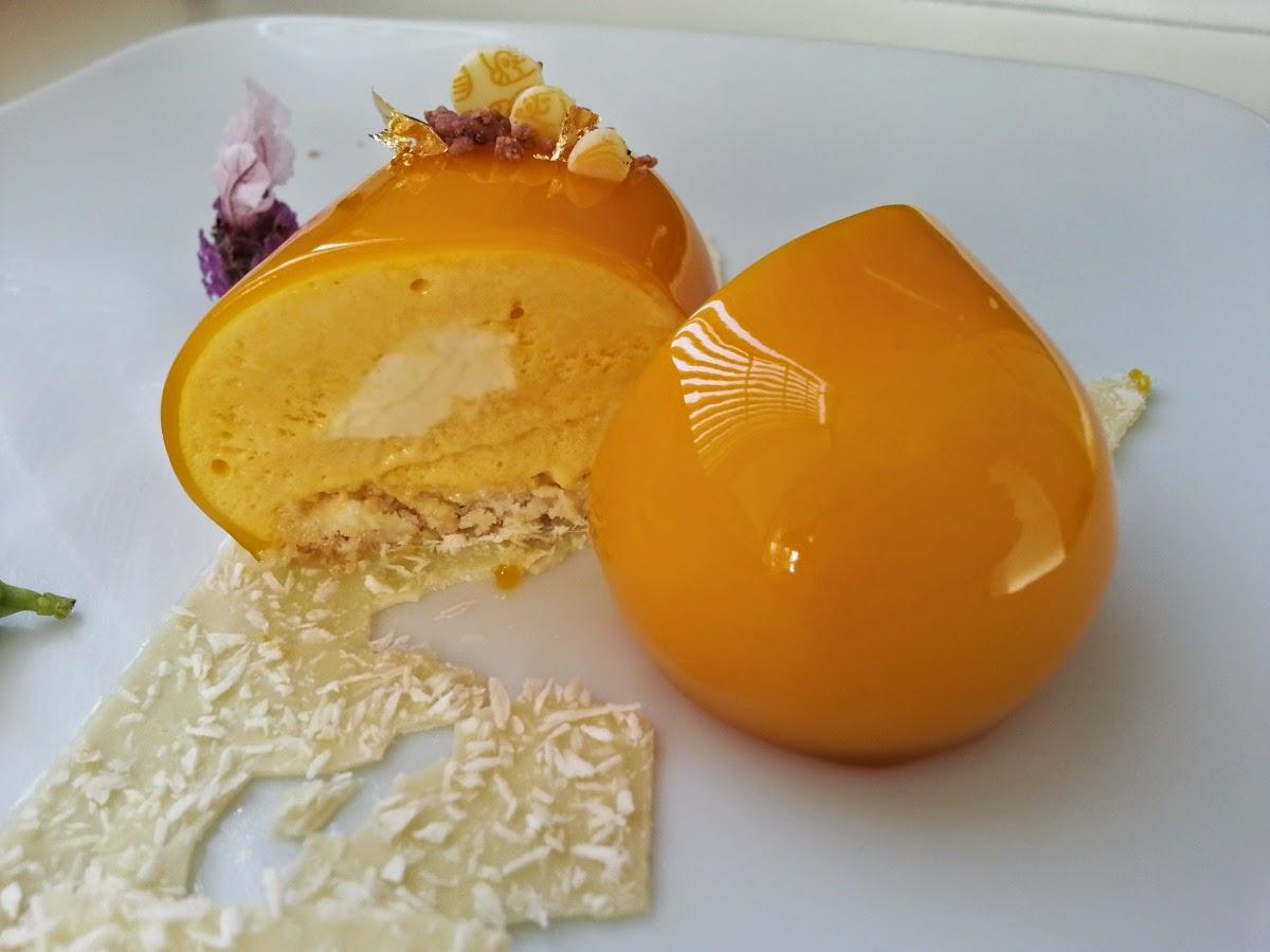 Glaseado de mango y fruta de la pasio 39 n i dolci di pinella - Glasse a specchio alla frutta ...