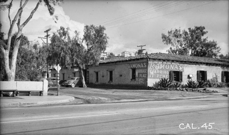 Ramona's Marriage Place Circa 1937