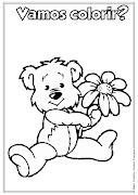 Desenho de urso para colorir. Desenho de urso para colorir (desenho de urso pra colorir ideia criativa lindas imagens)