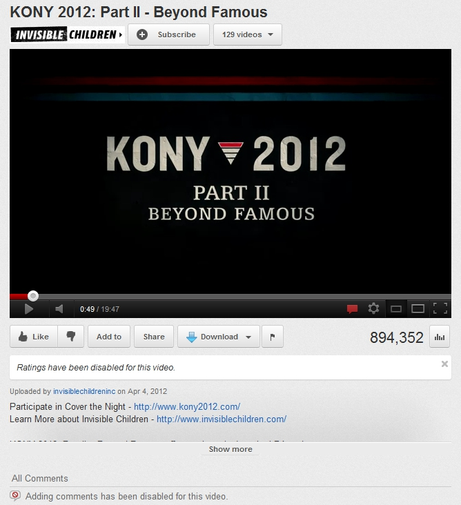 Kony 2012 Part 2: License for Imperial Conquest Kony2012PartII