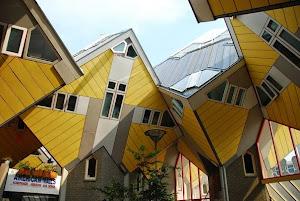 荷蘭鹿特丹立方體議院