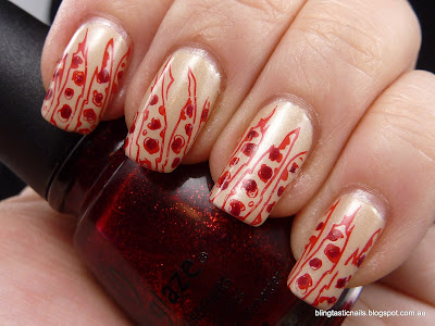 China Glaze Sydney Sand with Zoya Sooki