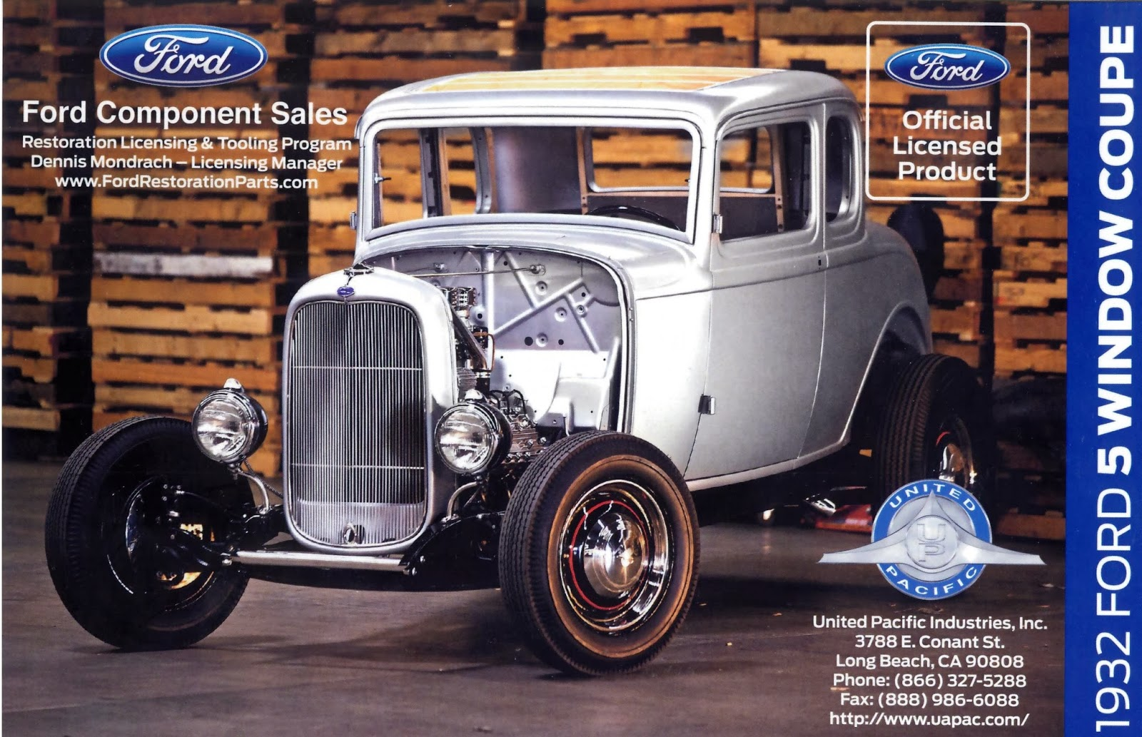Automotiveblogz 1932 ford five window coupe for 1932 ford 5 window coupe body