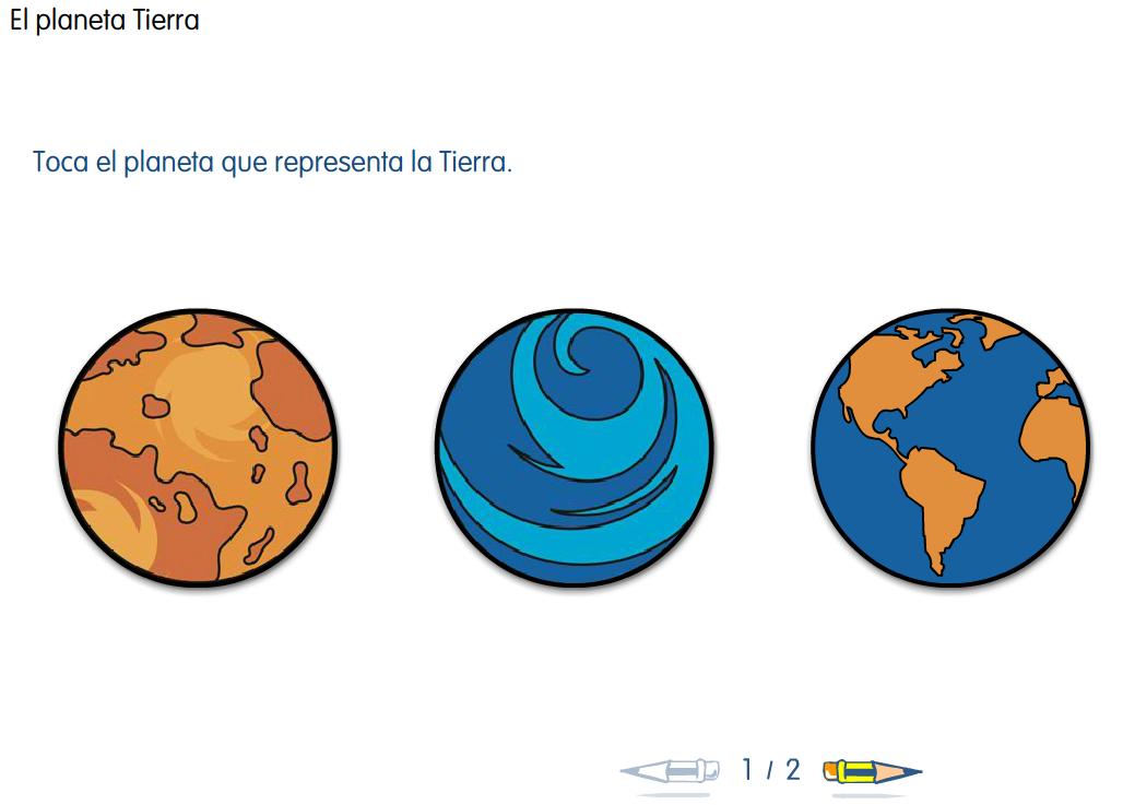http://www.primerodecarlos.com/SEGUNDO_PRIMARIA/febrero/tema3/actividades/cono/planeta_tierra/010601.swf
