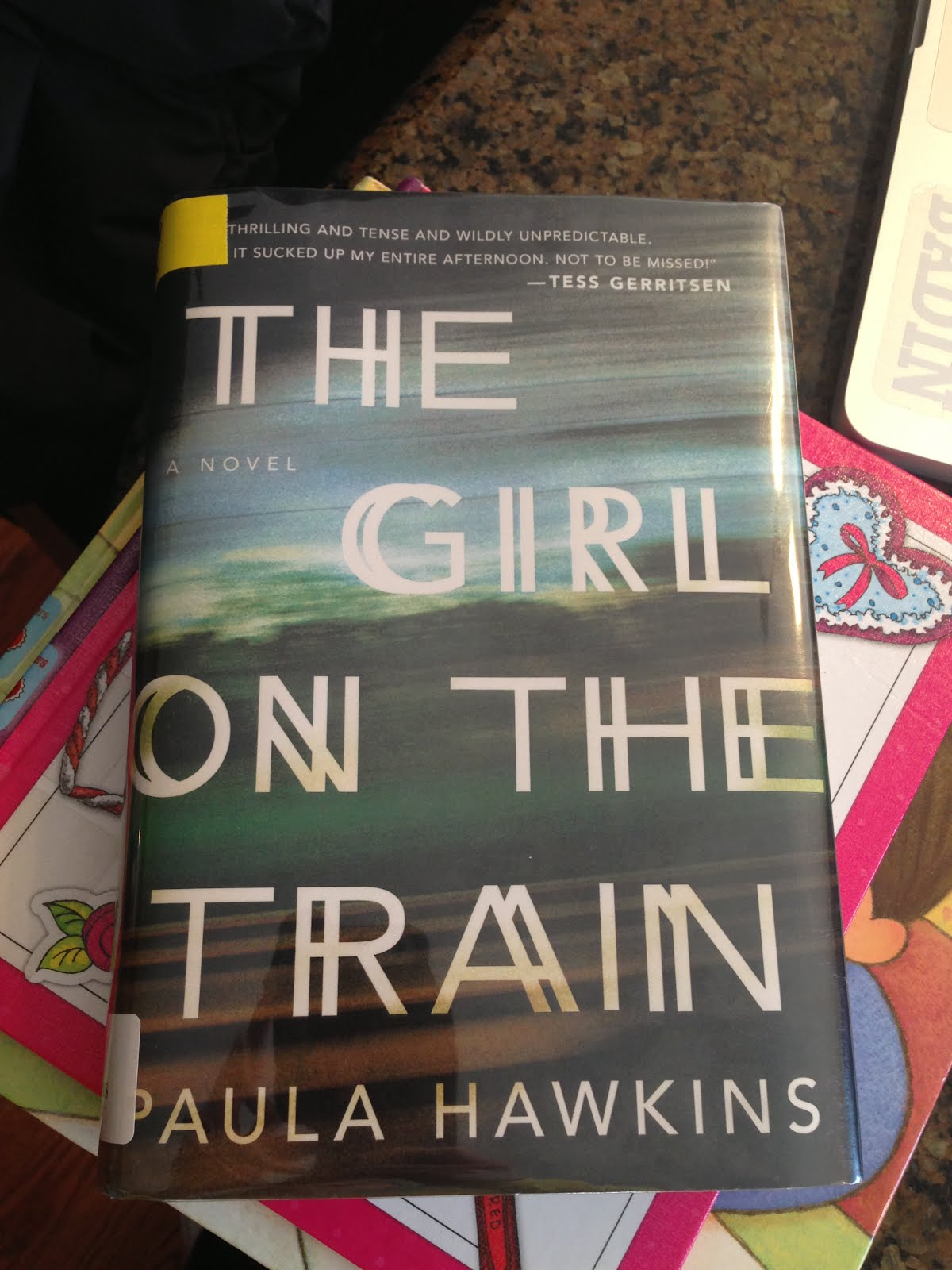The Girl On the Train -- Paula Hawkins