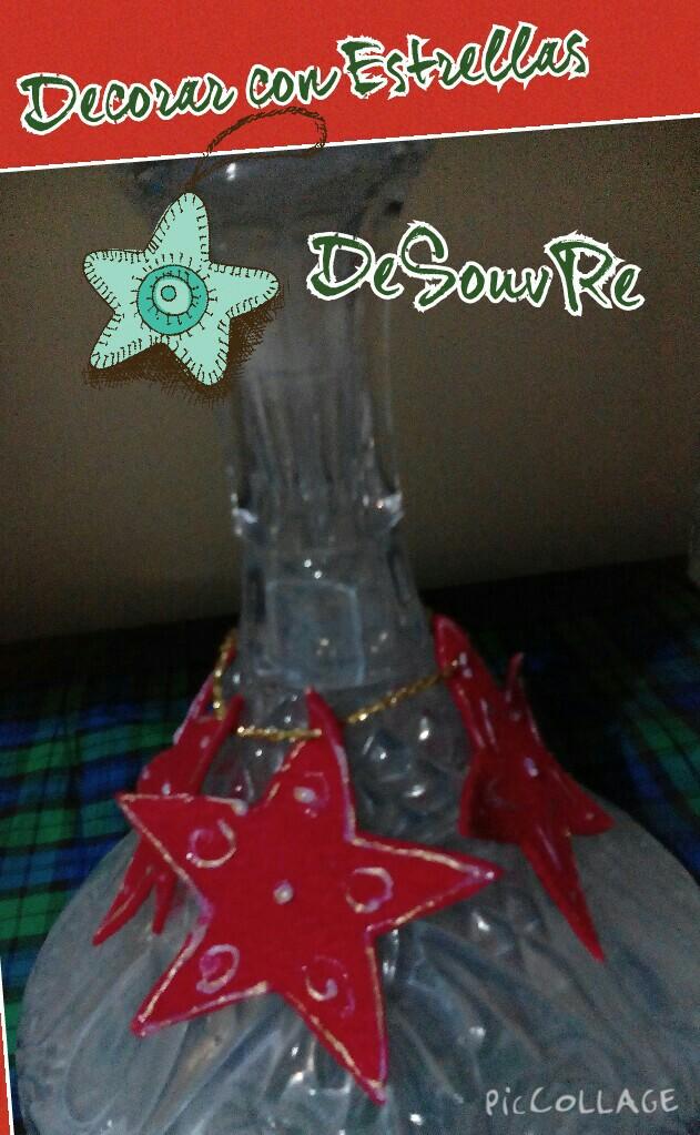 Desouvre decorar con estrellas de navidad - Decorar estrella navidad ...