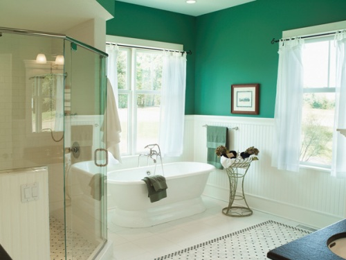 Bathroom Color Ideas For Black Bathroom Concept