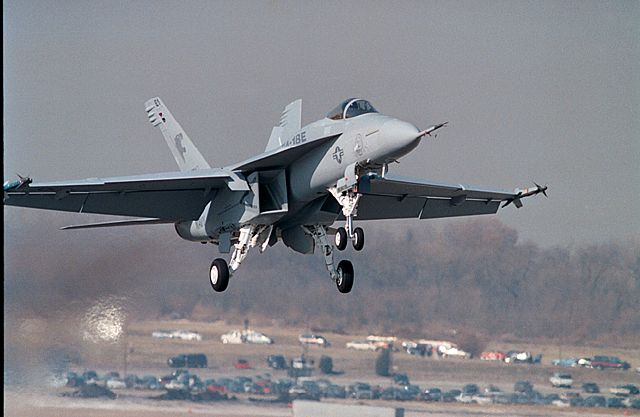 F/A-18E/F Super Hornet a Supersonic Fighter Jet