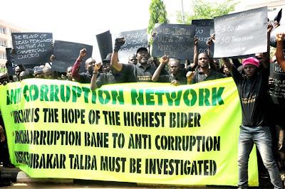 corruption nigerian government