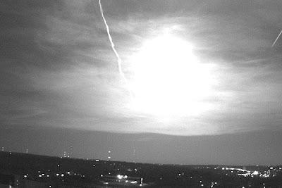 meteorito en españa 13 julio 2012