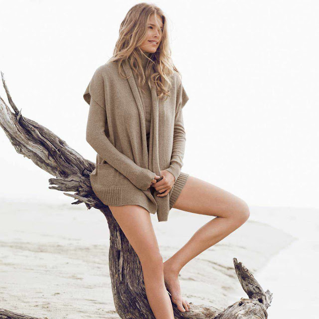 Doutzen Kroes – Repeat Cashmere Fall/Winter 2011/12 Collection