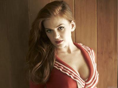 Sexy Australian Model Isla Fisher Wallpaper