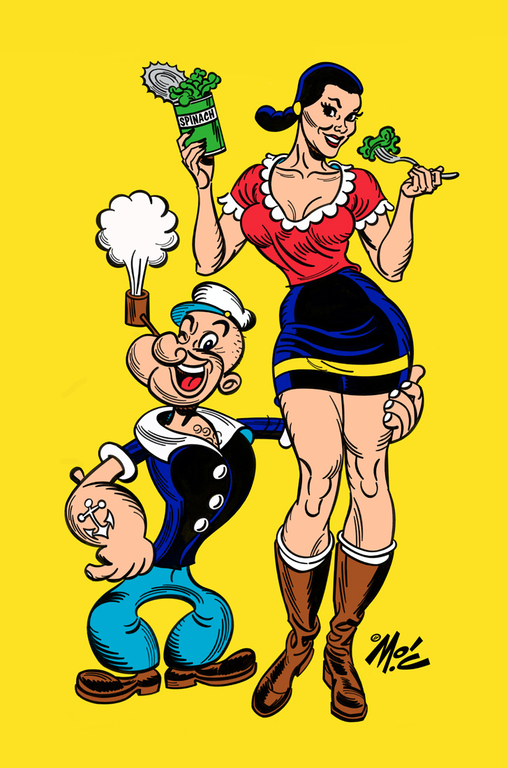 mitch o connell popeye the sailor man