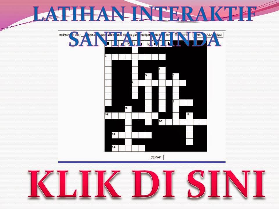 LATIHAN INTERAKTIF UNTUK ULANGKAJI PT3