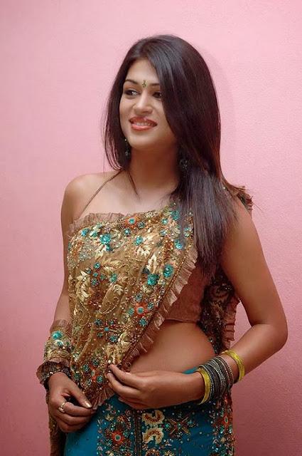 Shraddha Das In Saree Look