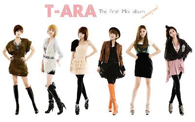 T-ARA The First Mini album
