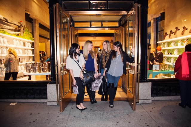 girls, night out, piopio, nyc