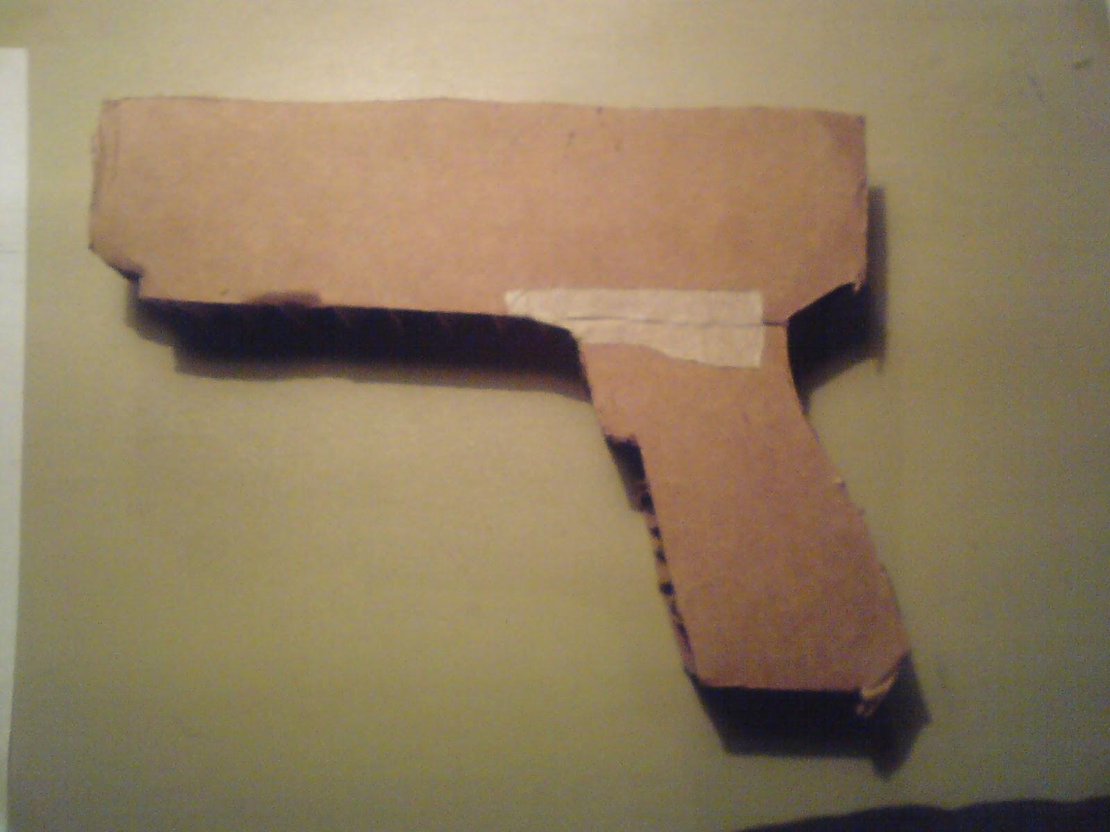 Pistola Blacktail - Resident Evil DSC04412