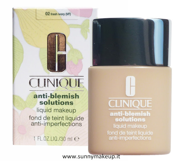 Clinique - Anti-Blemish Solutions Liquid Makeup. Fondotinta liquido Anti Eruzioni Cutanee.