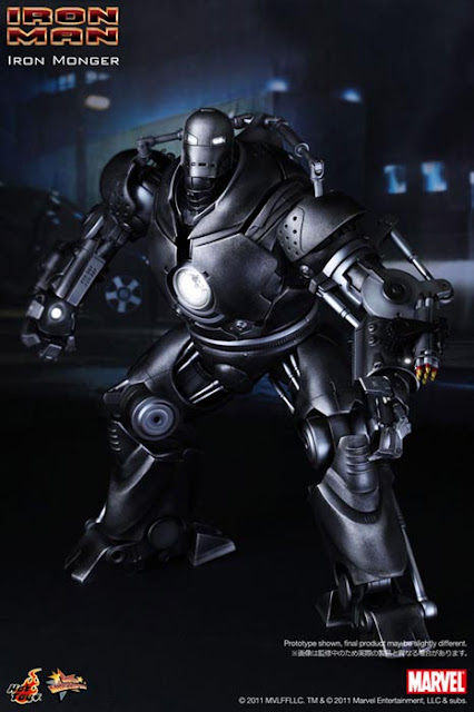 Hot toys Iron Man Iron Monger